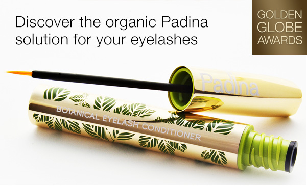 Discover the organic Padina solution for your eyelashes