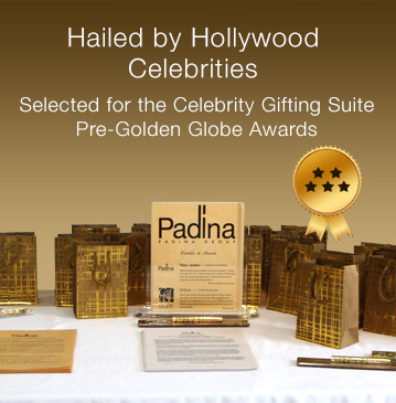 Hailed by Hollywood Celebrities Selected for the Celebrity Gifting Suite Pre-Golden Globe Awards